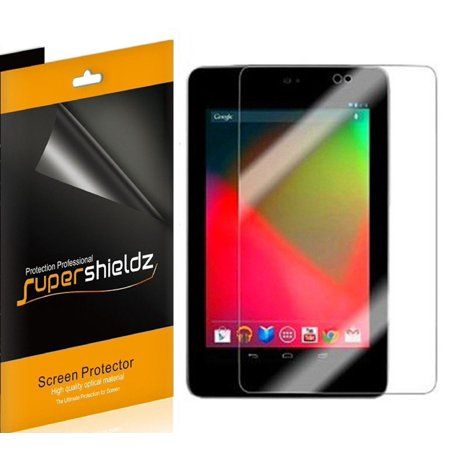 [3-Pack] Supershieldz for Asus Google Nexus 7 Tablet (1st Generation Only) Screen Protector, Anti-Glare & Anti-Fingerprint (Matte) Shield (Nexus 7 Tablet Replacement Screen)