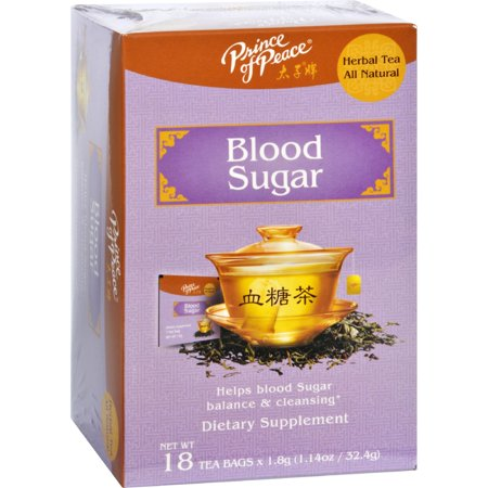 Prince of Peace Tea - Herbal - Blood Sugar - 18 (Sugar Afternoon Tea)