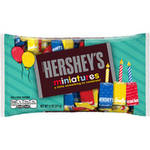 Hershey's Birthday Miniatures Candy, Red, Yellow, Blue, 11 oz by HERSHEY CHOCOLATE, USA