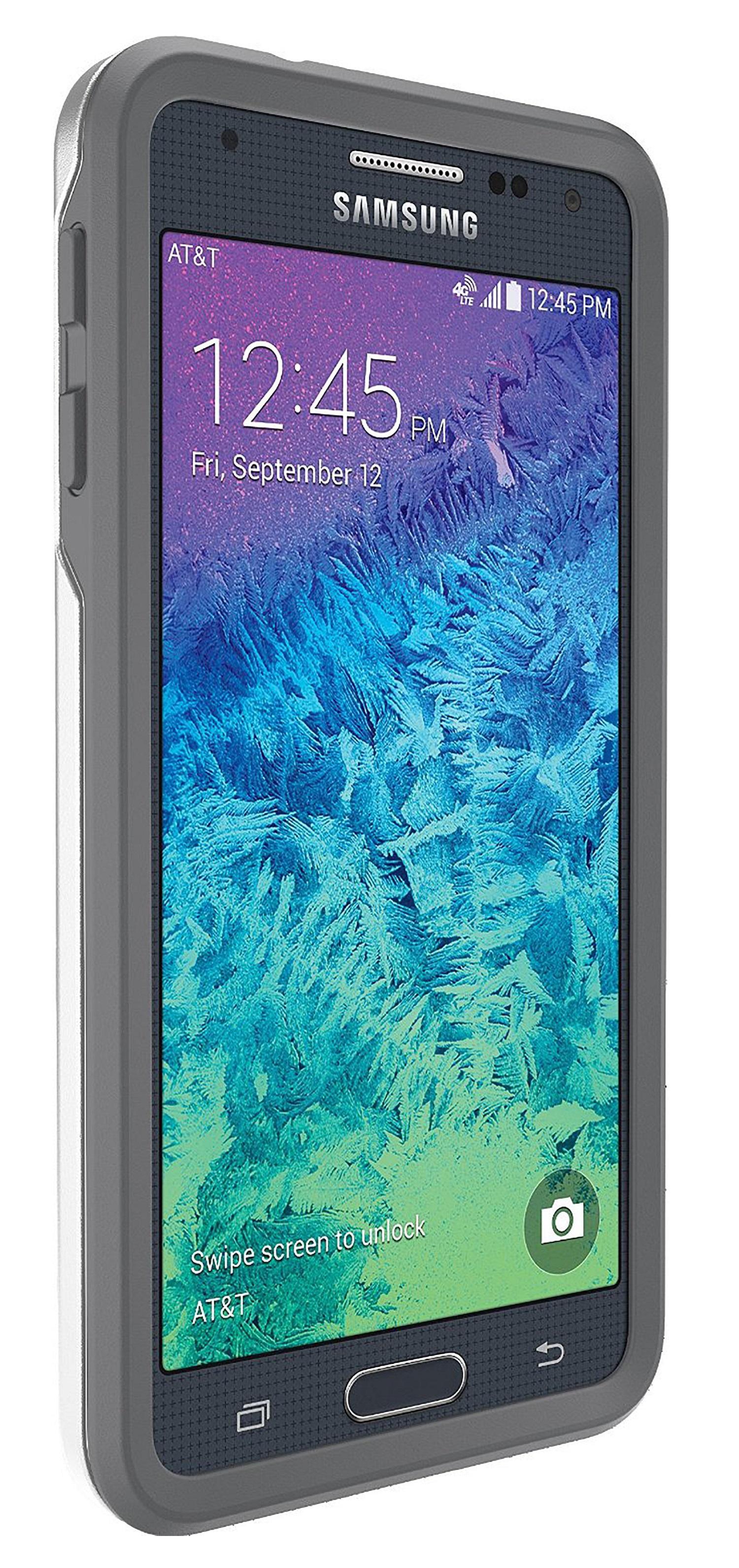 the best attitude 09d6e d918a OtterBox Symmetry Series Case for Samsung Galaxy Alpha - Glacier