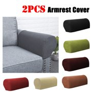 2PCS Premium Stretch Furniture Armrest Covers Slipcovers Sofa Chair Couch Chair Arm Protectors - 7 Colors