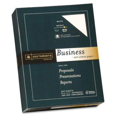 Southworth Company 24lb 25% Cotton Business Paper SOU404C