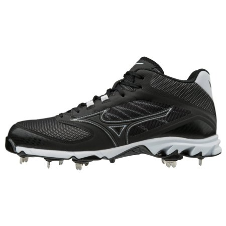 Mizuno 9-Spike Dominant 2 Mid Mens Metal Baseball Cleat
