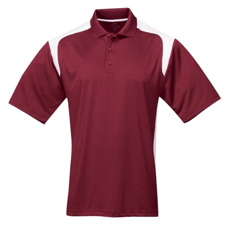 Collar Golf Shirt (Tri-Mountain Men's Big And Tall Rib Collar Golf Shirt )