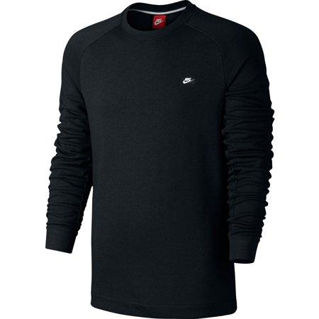 8c281db9 Nike Modern Crew Men's Sweat Shirt Black Casual Regular Fashion ...