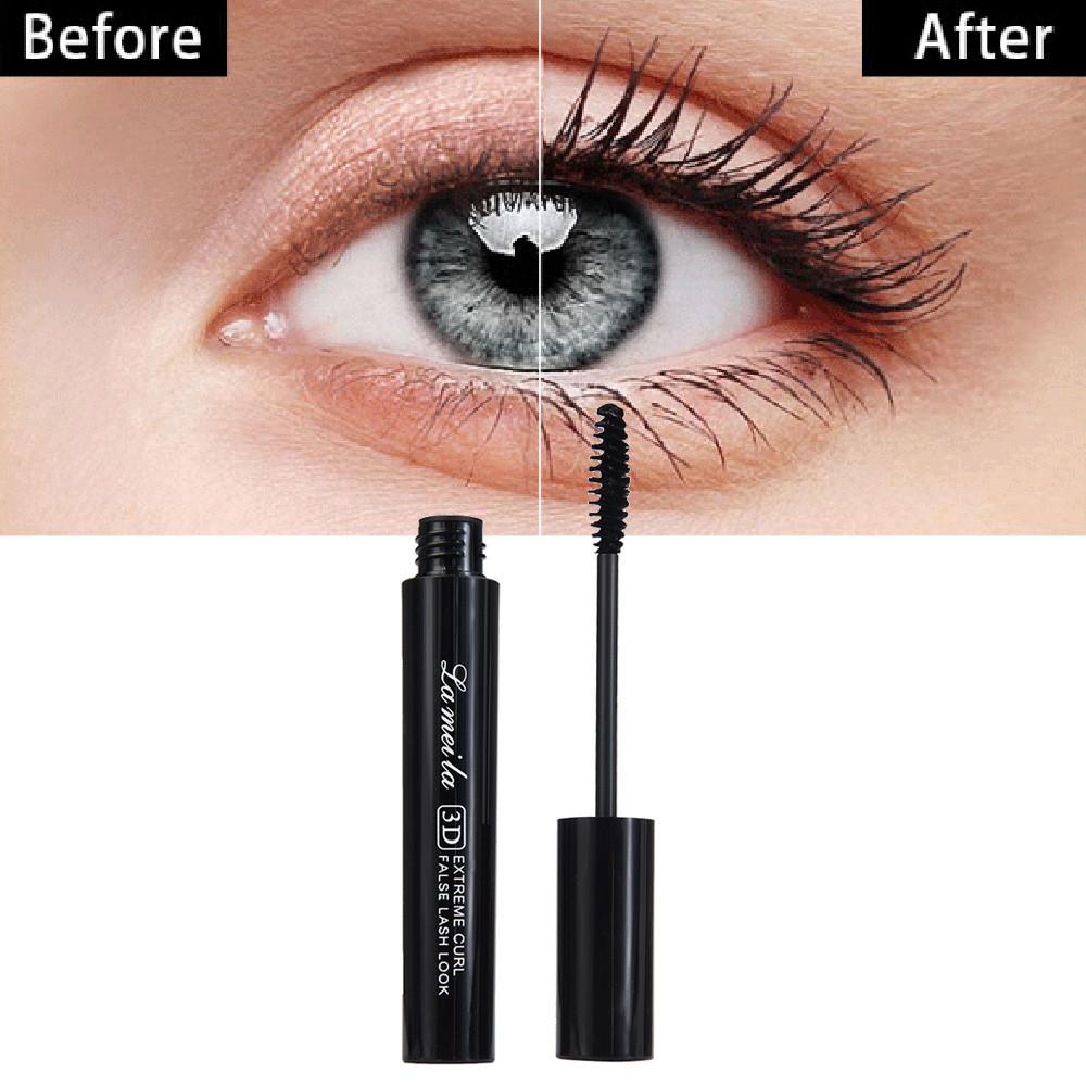 Tuscom Mascara Long Black Lash Eyelash Extension Waterproof Eye Makeup Tool