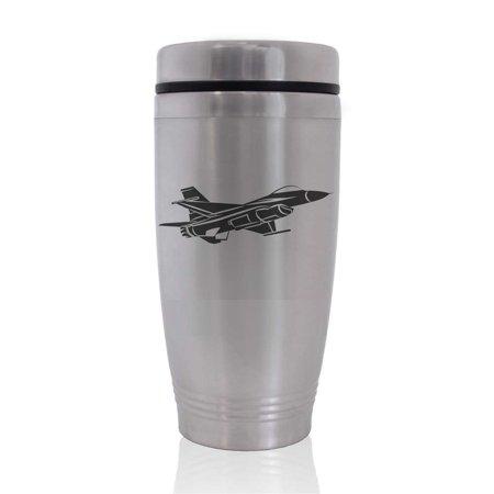 Commuter Travel Coffee Mug - F16 Fighter Jet (Jet Ski Mug)