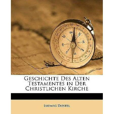 Geschichte Des Alten Testamentes in Der Christlichen Kirche - image 1 of 1