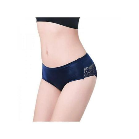 32d0f92de Women Lace Seamless Panties Mid Waist Briefs Underwear Lingerie