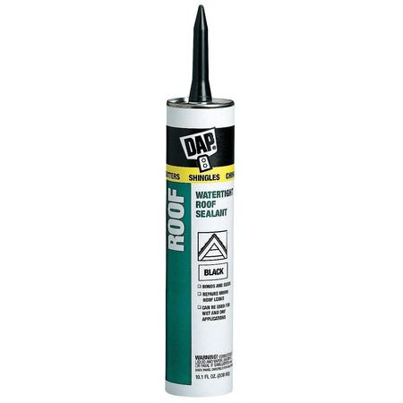 DAP 18268 10.1 oz. Black Roof Waterproof Asphalt Filler & Sealant