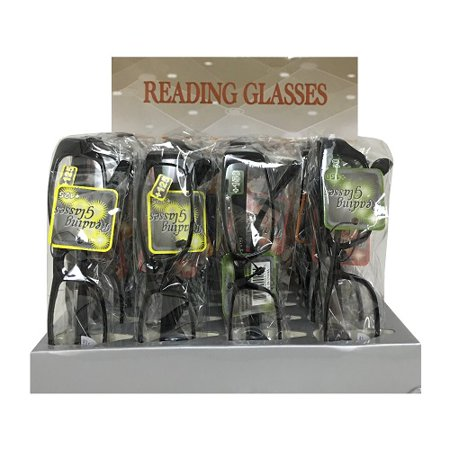 New 814440  Sleek Reading Glasses Asst (24-Pack) Accessories Cheap Wholesale Discount Bulk Apparel Accessories (Bulk Reading Glasses Wholesale)