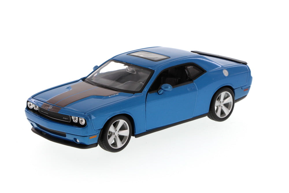 Dodge Challenger SRT, Blue Maisto 34280 1 24 Scale Diecast Model Toy Car (Brand but NOT IN... by Maisto