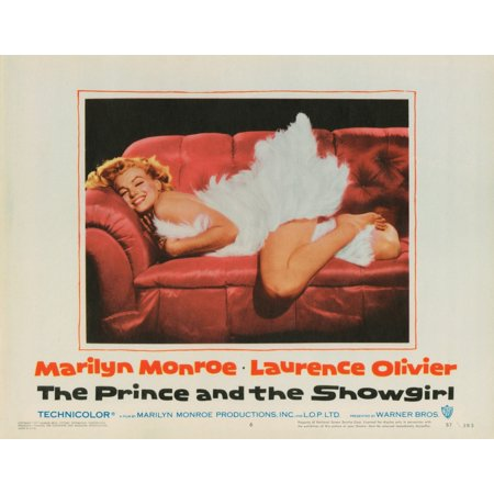 The Prince And The Showgirl Lobbycard Marilyn Monroe 1956 Movie Poster (Marilyn Monroe The Prince And The Showgirl Dress)