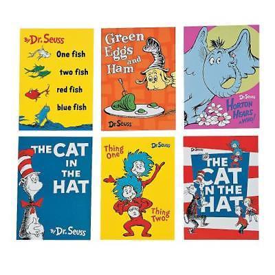 IN-13678858 Dr. Seuss Mini Memo Pads 48 Piece(s) by Fun Express (Dr Memo)