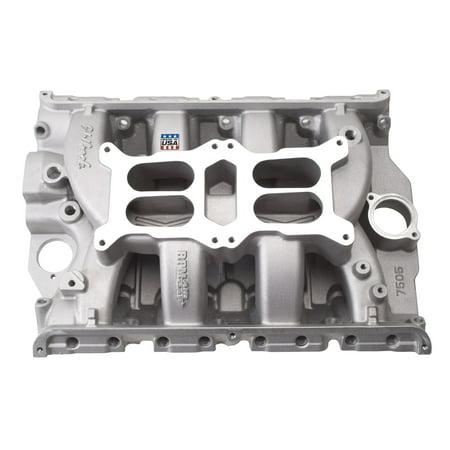 Air Gap Dual Quad Manifold - Edelbrock 7505 RPM Air-Gap Dual-Quad FE Intake Manifold