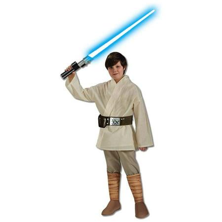Boy's Deluxe Luke Skywalker Halloween Costume - Star Wars Classic