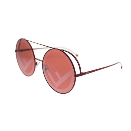 Fendi Run Away FF 0285 C9A Womens Round Sunglasses