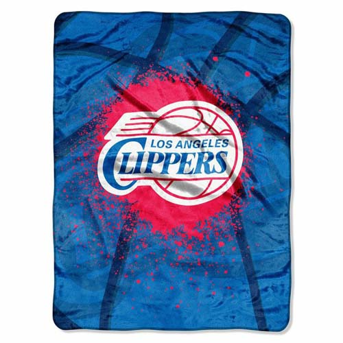 Los Angeles Clippers Oversize Plush Blanket