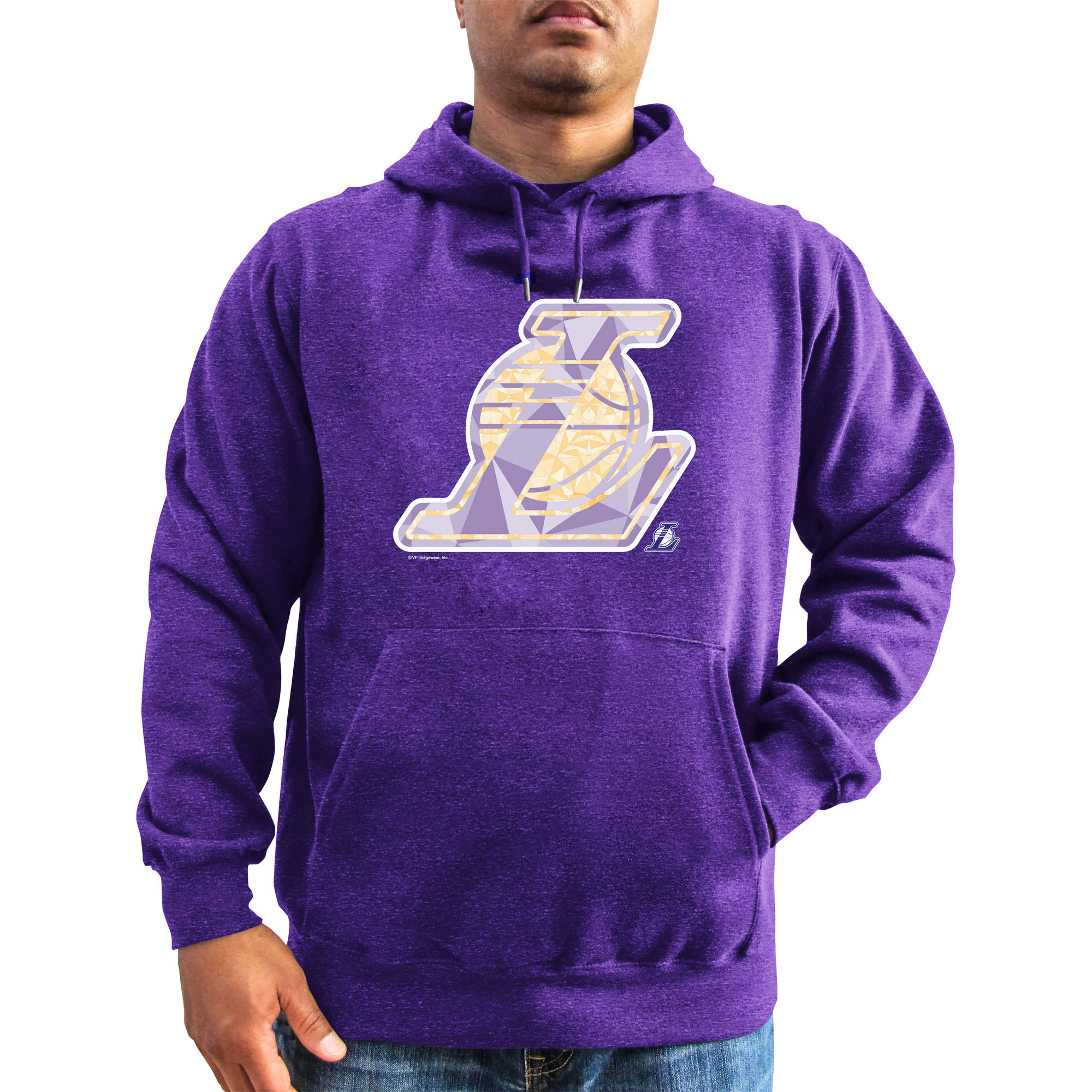 NBA Big Men's Los Angeles Lakers Hooded Fleece, 2XL