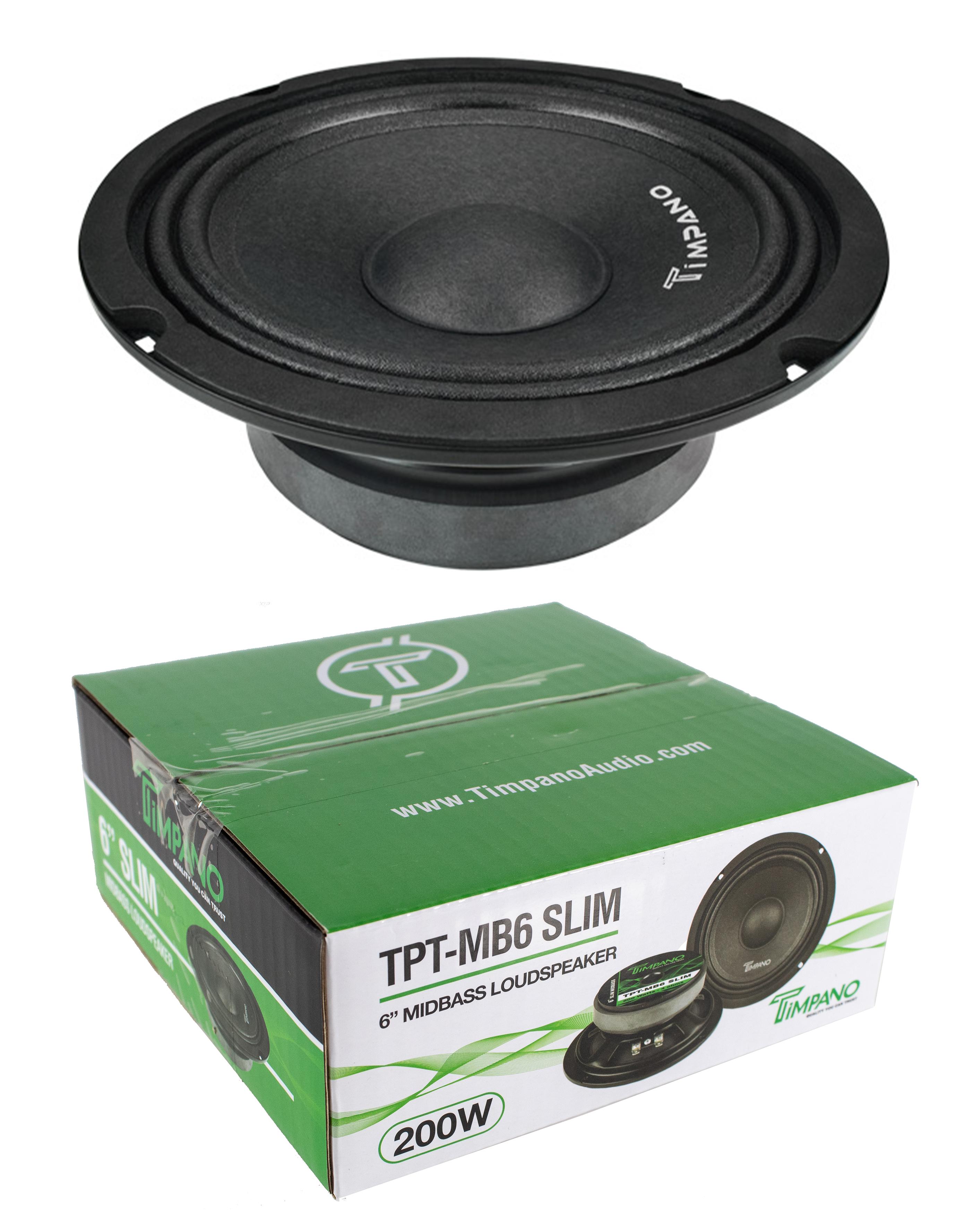 2 Timpano TPT-MD8 Full Range Mid Bass Loud Speaker 8 8 Ohm 520W Peak Pair