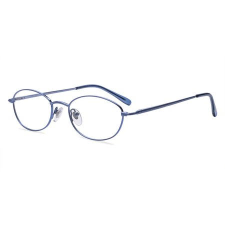 Prescription Glasses Frames - Contour Womens Prescription Glasses, FM4040D Blue