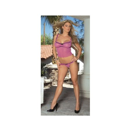 Home Depot Halloween Clearance (Pink and Black Polka Dot Cami Lingerie)
