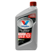 Valvoline Full Synthetic High Mileage with MaxLife Technology SAE 5W-20 Motor Oil, 1 Quart