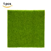 Herwey 2 Sizes Synthetic Artificial Grass Mat Turf Lawn Garden Micro Landscape Ornament Home Decor, Artificial Lawn, Artificial Turf