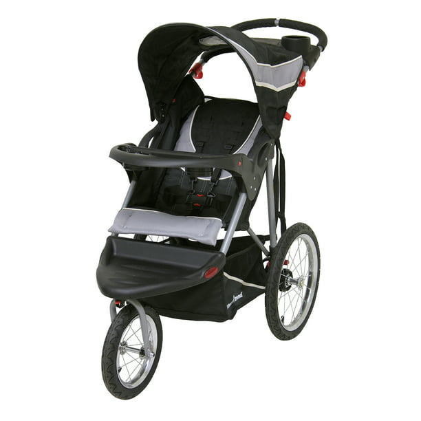Baby Trend Expedition Jogging Stroller, Phantom Black