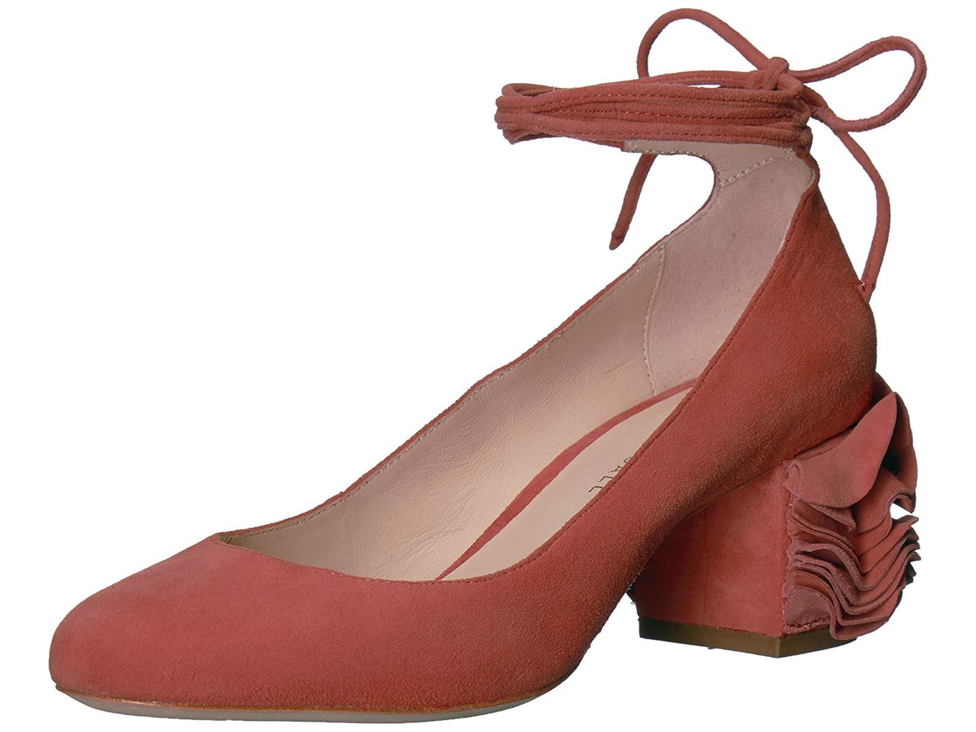 3a02b4a91f1 Loeffler Randall Clea Low-Heel Ankle Strap Pumps