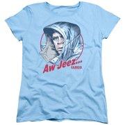 Fargo Aw Jeez Womens Short Sleeve Shirt