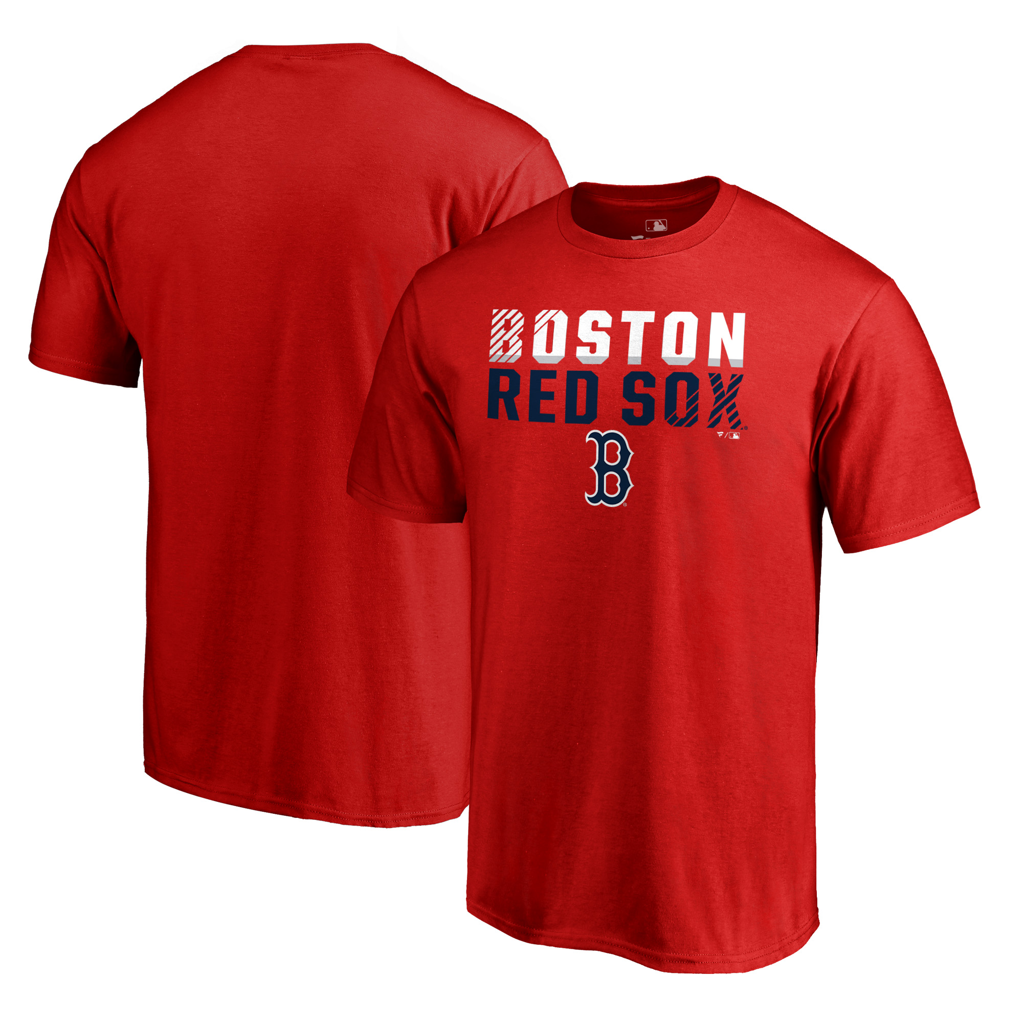 Boston Red Sox Fanatics Branded Big & Tall Fade Out T-Shirt - Red