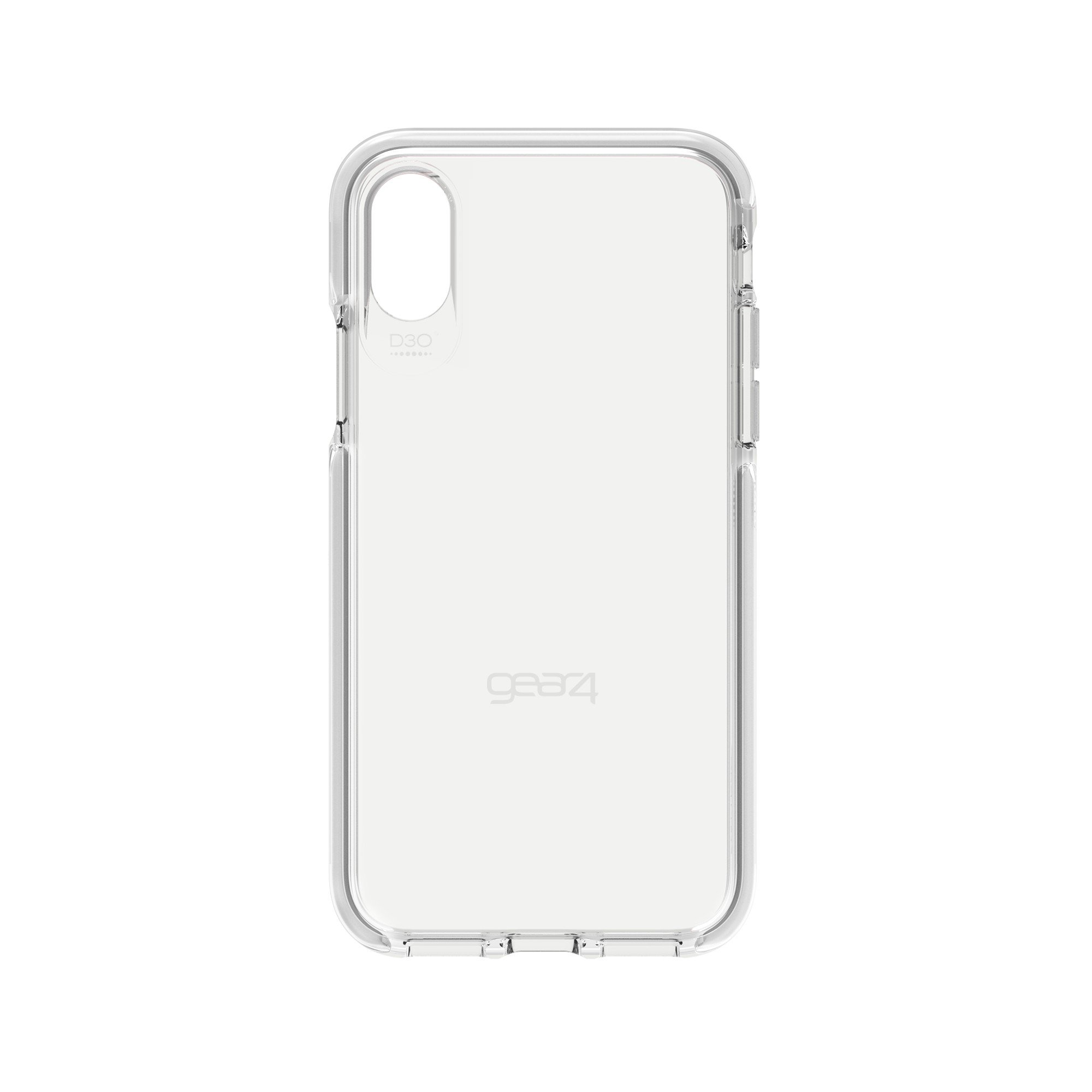 half off f9d16 7054b GEAR4 iPhone X/Xs D3O Clear/White Piccadilly case - IC8PICSVR