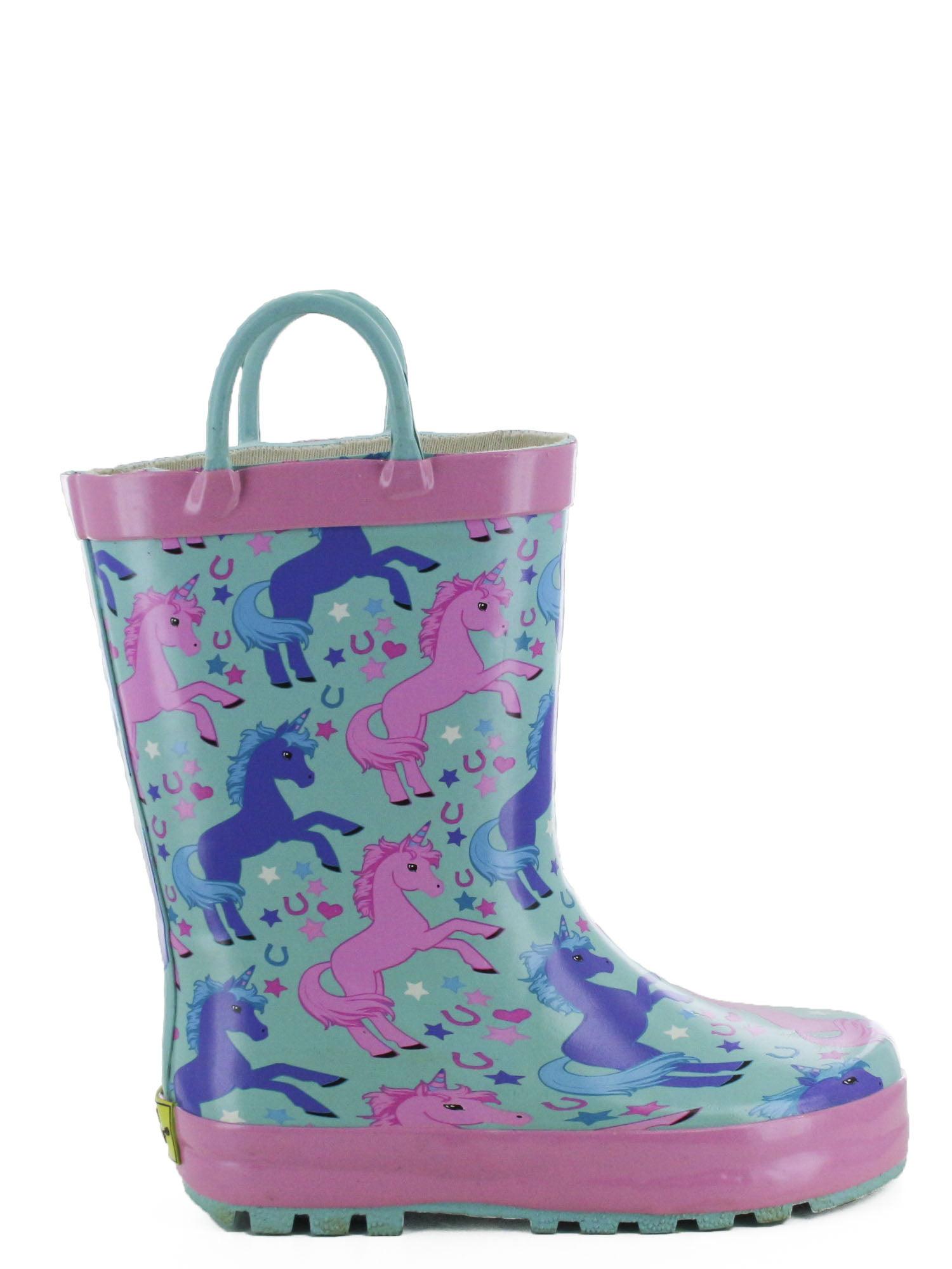 Western Chief Girls' Lucky Unicorn Rain