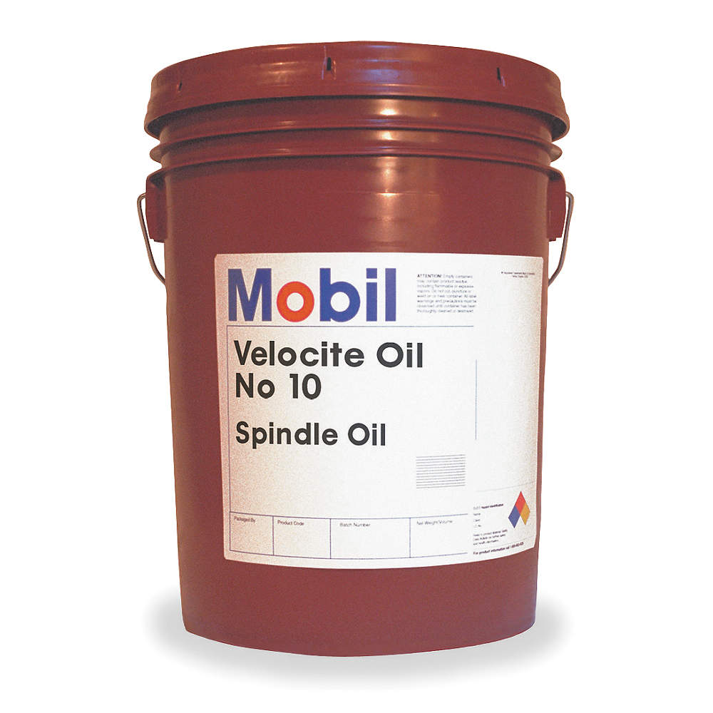 MOBIL Spindle Bearing Oil,  5 gal. Pail,  1 EA 105481