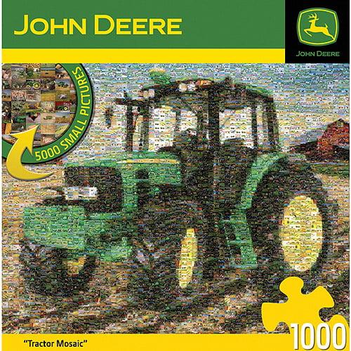 Masterpieces John Deere Mosaic Jigsaw Puzzle, 1,000 Pieces