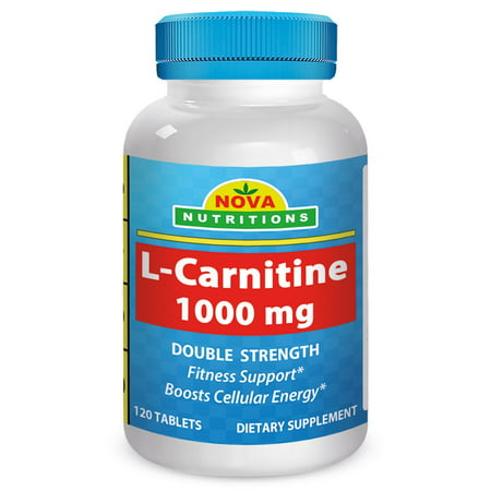 Nova Nutritions L Carnitine 1000Mg 120 Tablets   Carnitine For Energy And Fitness Support
