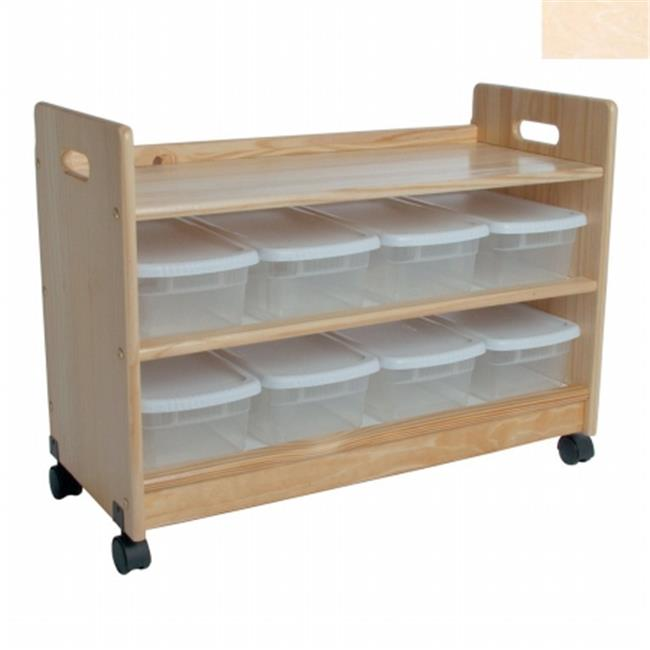Little Colorado 069UNF Toy Organizer with Casters
