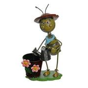 Northlight Seasonal Tin Pot Planter