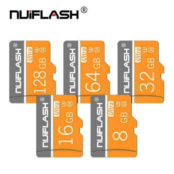 128GB Micro SD Card With Adapter (Class 10 Speed) Memory Storage For Cameras Tablets Smartphones - Walmart.com - Walmart.com