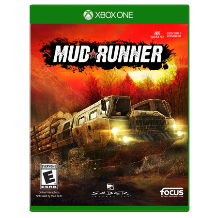 MudRunner, Maximum Games, Xbox One, 854952003943