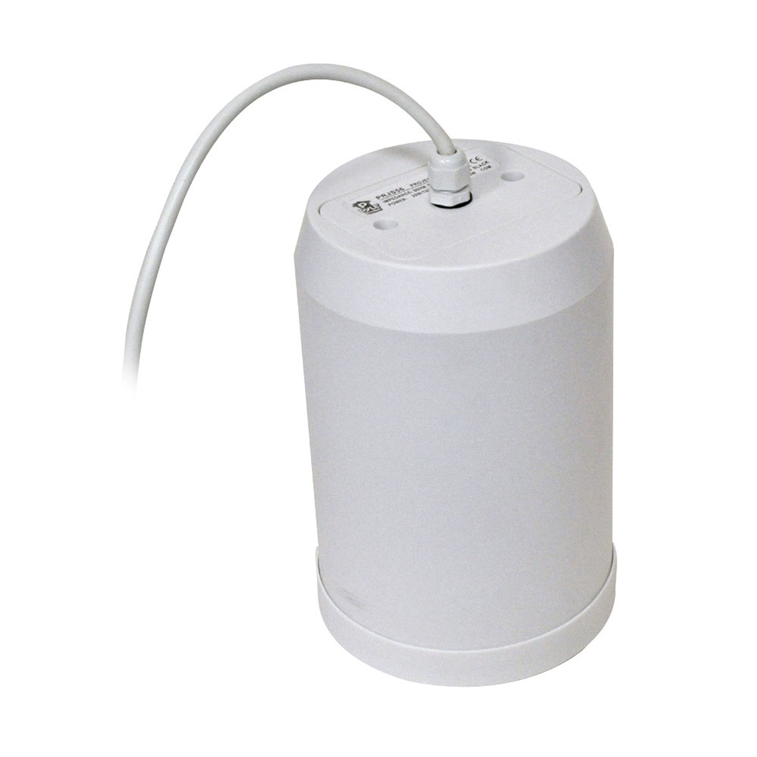 "Pyle 5"" 20 Watt Ceiling Hanging Pendant Speaker w  70V Transformer (White) by Pyle"
