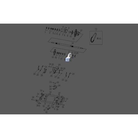 polaris rzr 170 2009-2017 left hand rear axle housing 0454494 new oem -  walmart com
