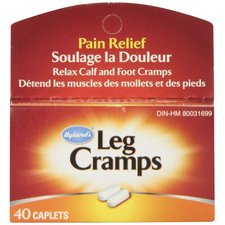 Hyland's Leg Cramps Caplets, 40 ct., Hyland's Leg Cramps caps relieves the symptoms of cramps and pains in lower back and legs. By Hylands