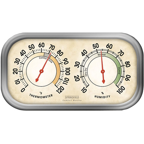 Springfield Humidity Meter and Thermometer Combo