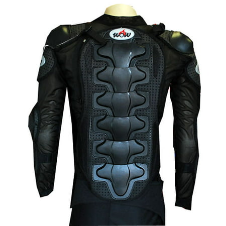 Paintball Body Armor (WOW MOTORCYCLE MOTOCROSS BIKE GUARD PROTECTOR YOUTH KIDS BODY ARMOR BLACK )