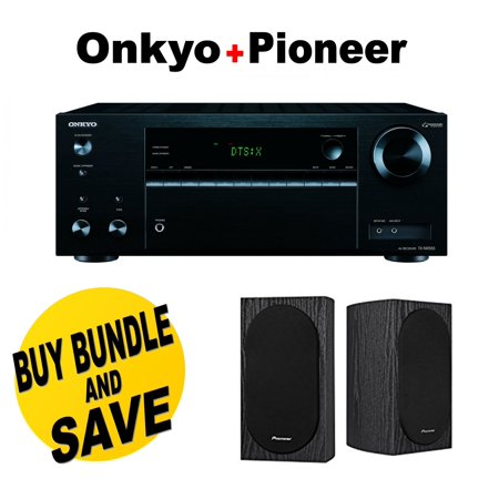Onkyo TX NR555 72 Channel Network A V Receiver Pioneer SP