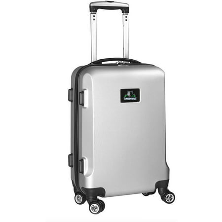 NBA® Mojo Hardcase Spinner Carry On Suitcase - Silver