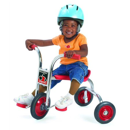 Childs Pusher (8 in. Pedal Pusher in Red)