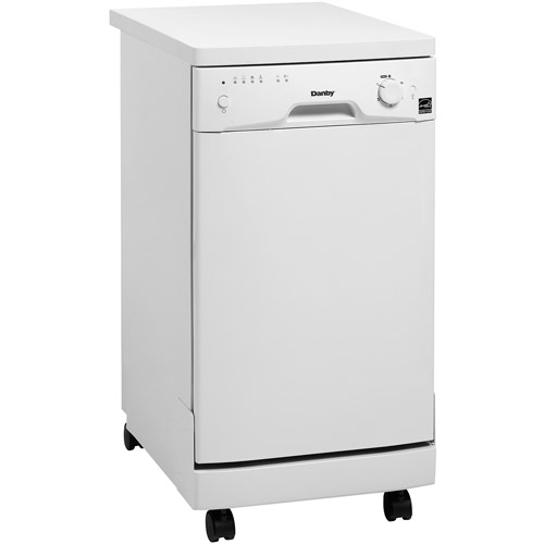 Danby 8-Place Setting Energy Star Portable Dishwasher, DDW1899WP